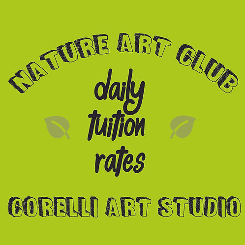 Nature Art Club - Daily Rates