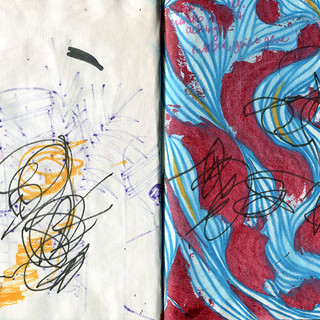 Drawing with 2 year old