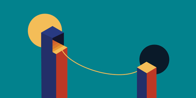 Tightrope // Justin Chen — Illustration