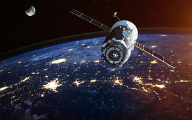 Spacecraft-Launch-Into-Space.-Elements-o
