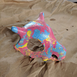 Hydrodipped 3D print with Spray Paint