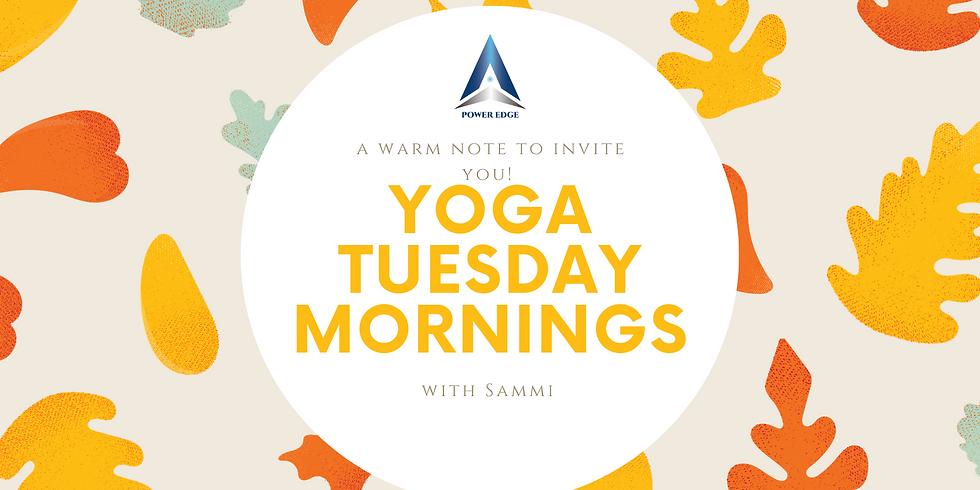 Tuesday AM Yoga