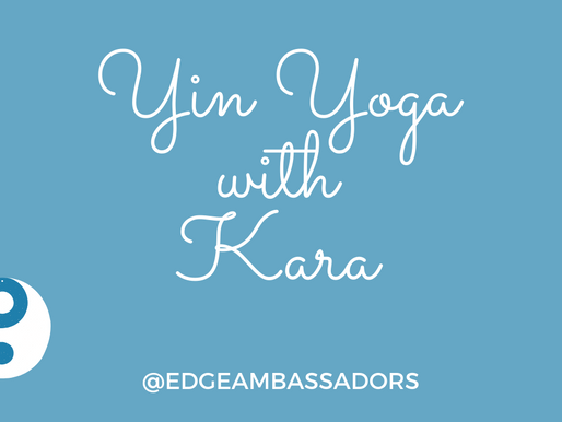 Yin-Inspired Flow: A Virtual Workshop with Kara