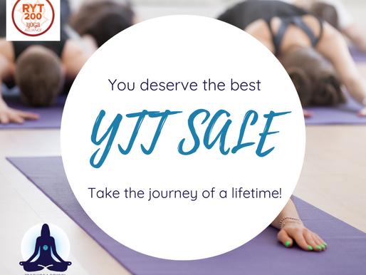 24-Hour SALE on YTT!