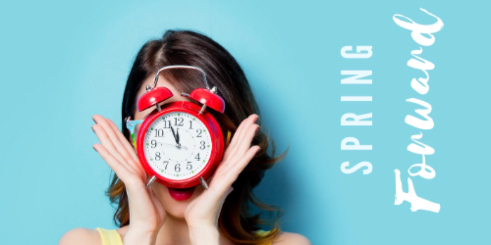 Spring Forward with a Surprise!