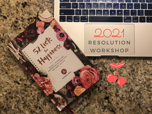 FREE Weekly Resolution Workbook for You!