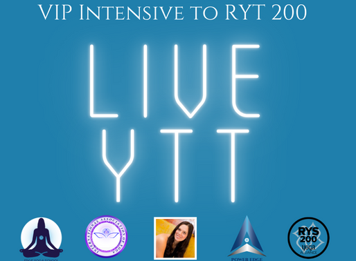 VIP YTT LIVE & In-Person Intensive