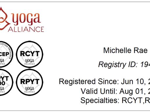 Yoga Alliance acronyms explained for you!