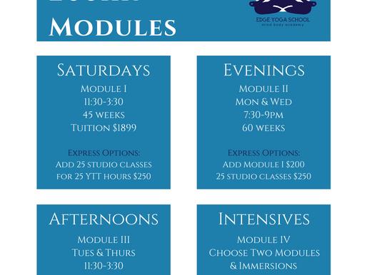 YTT Modules!
