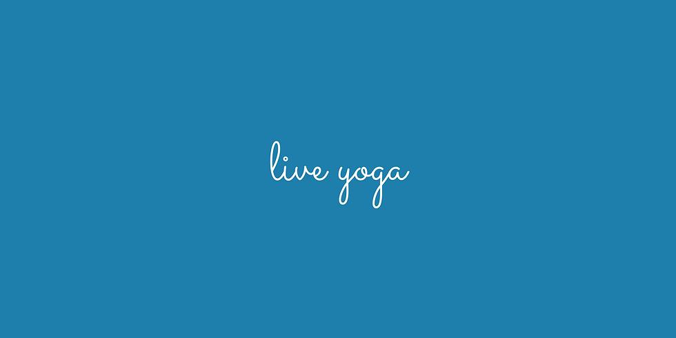Live Studio Restorative Yoga Class