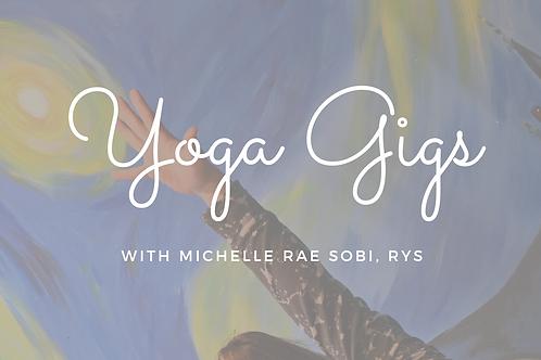 Yoga Gig Guide
