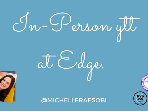In-Person YTT at Edge in Naperville!
