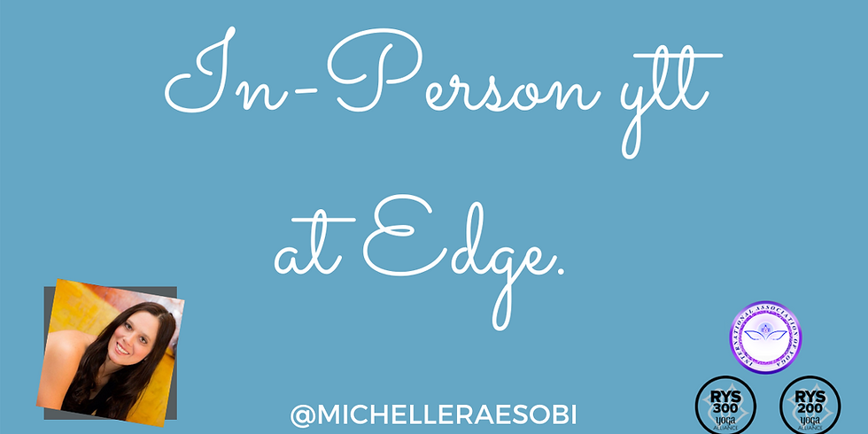 In-Person YTT at Edge