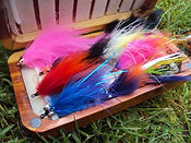 fly fishing flies for steelhead salmon and trout