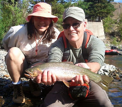 Methow river guided fly fishing for trout and steelhead