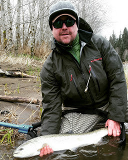 Fredward with a Sol Duc Steelie