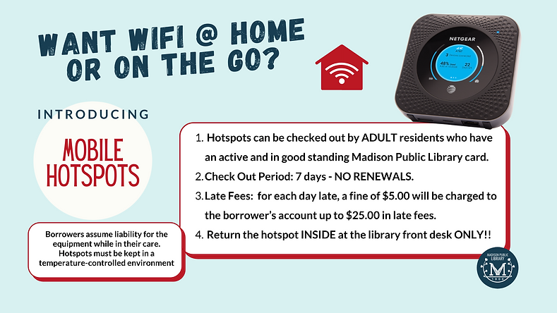 Wifi @ Home - Hotspots