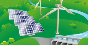 Good News for a Change: Old Mine Site  changes into Renewable Energy Supply - Solar*Wind*Water