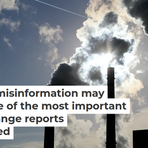 Dangerous Distraction Of Most Important Climate Change Report By Misleading Fossil Fuel Information