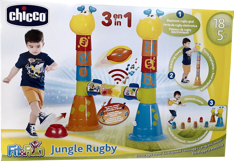 CHICCO FIT&FUN JUNGLE RUGBY
