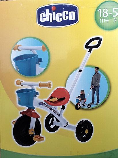 CHICCO TRICICLO U-GO MOVE'N GROW SVILUPPA IMMAGINAZIONE E CAPACITÀ PSICOMOTORIE