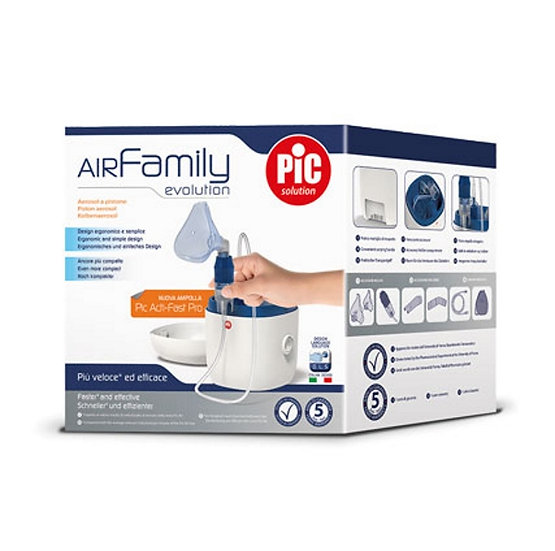 PIC SOLUTION AIR FAMILY EVOLUTION AEROSOLTERAPIA