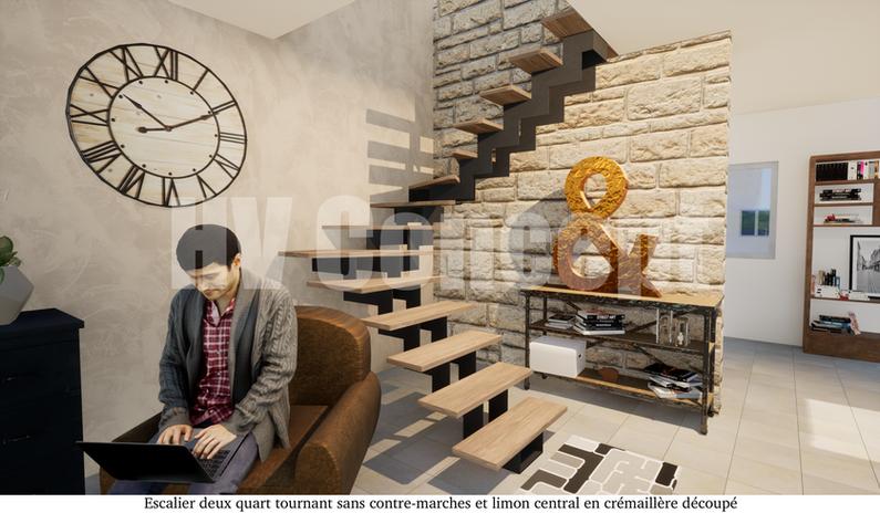 Escalier sur-mesure Hv Concept