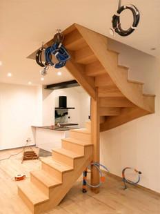 Escalier design bois menuiserie tendance