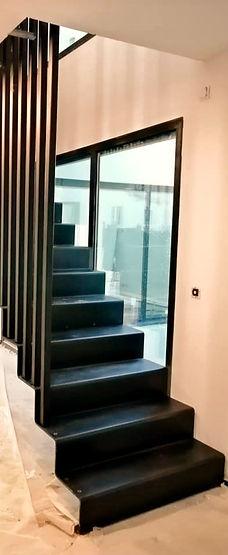 Hv concept escalier tôle pliée paris des