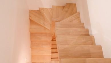 Escalier bois minimaliste design paris s