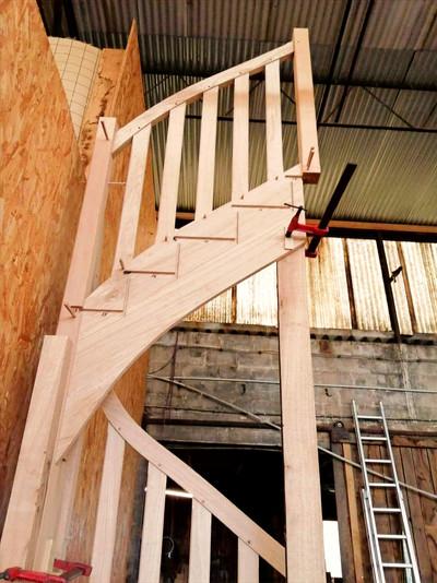 Escalier sur mesure tendance atelier men