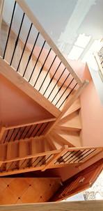 Fabrication installation pose escalier b