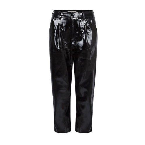 Vinyl Wide Trousers