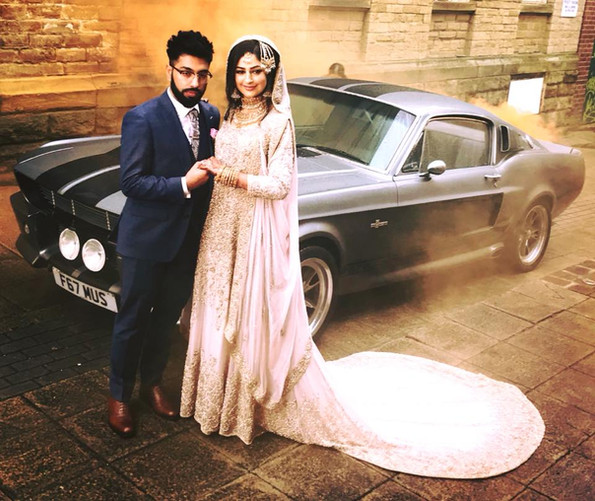 Ford Mustang Wedding