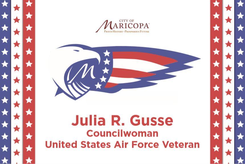 Julia R Gusse City of Maricopa Logo