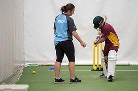 Cutting Edge Cricket Rachel Napolitano Coaching