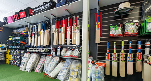 Cutting Edge Cricket, Cricket shop