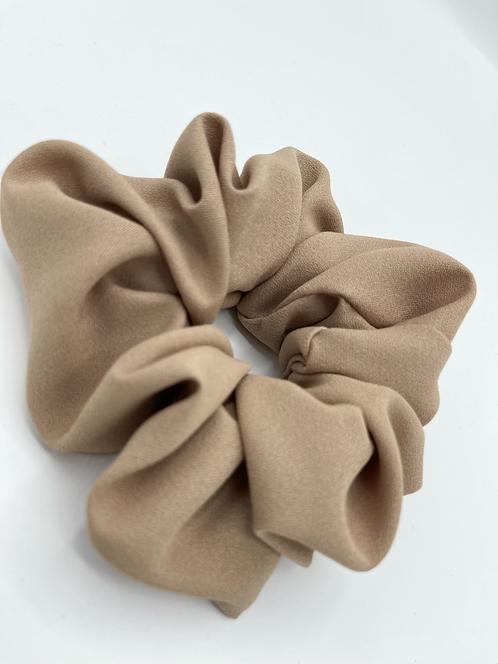 The Tan Scrunchie