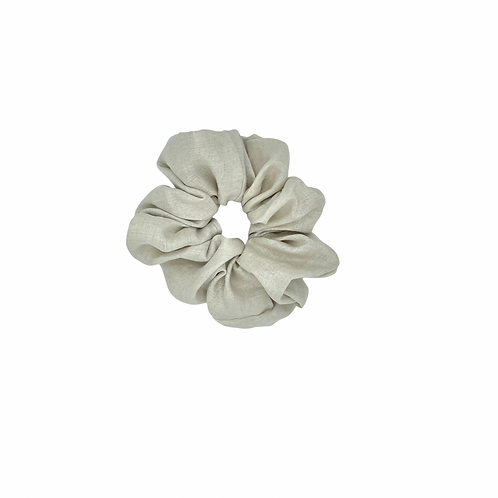 The Linen Scrunchie