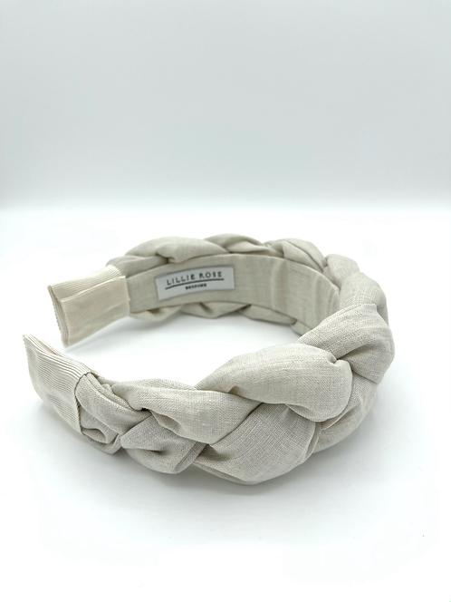 The NOVA Headband - Linen