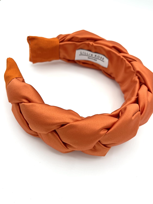 The NOVA Headband - Burnt Orange