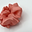 Thumbnail: The Coral Shimmer Scrunchie