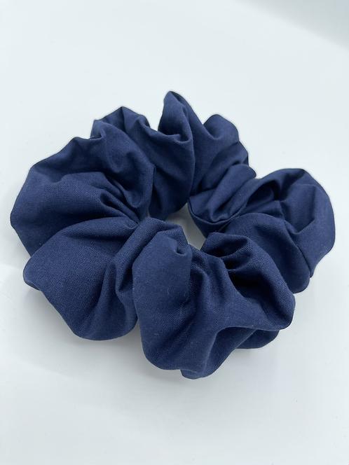 The Navy Scrunchie