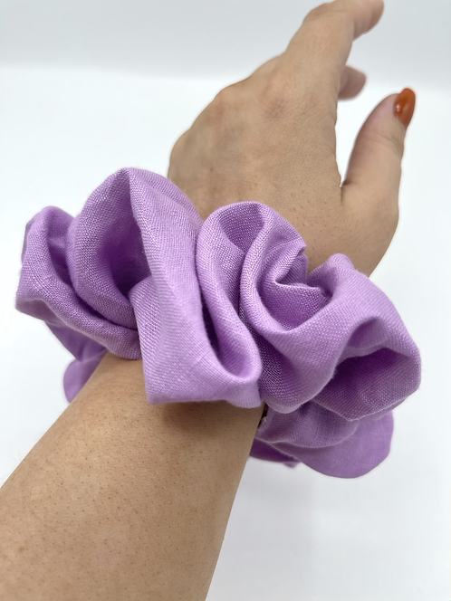 The Periwinkle Scrunchie