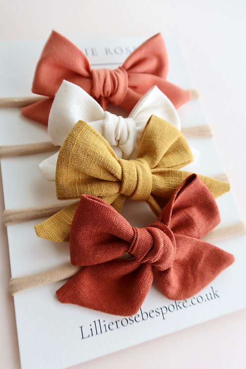 Set of 4 - The Florence Bow
