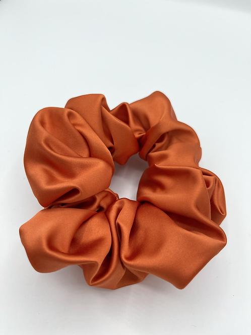 The Burnt Orange Scrunchie