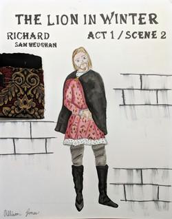 Richard Act 1/ Scene 2