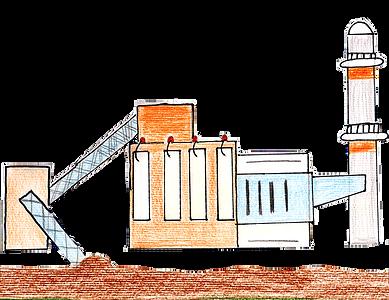 Biomassekraftwerk