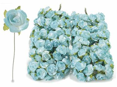 Blue Roses w leaflets