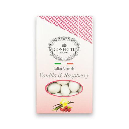 Vanilla & Raspberry Italian Almonds - 500g